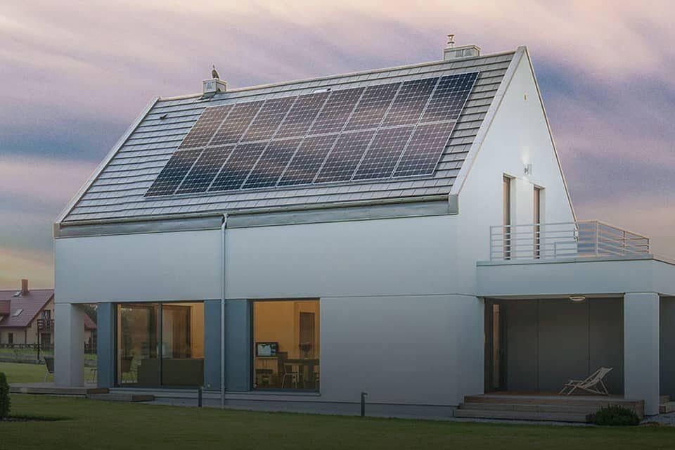 Eigenheim mit Photovoltaikanlage
