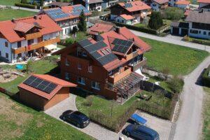 Solaranlage land