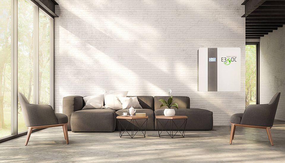 Wohnzimmer mit E3DC S10 MINI