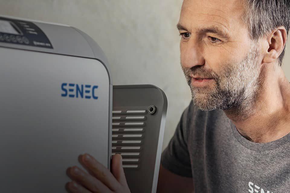 SENEC Solarstrom 24 Stunden nutzen