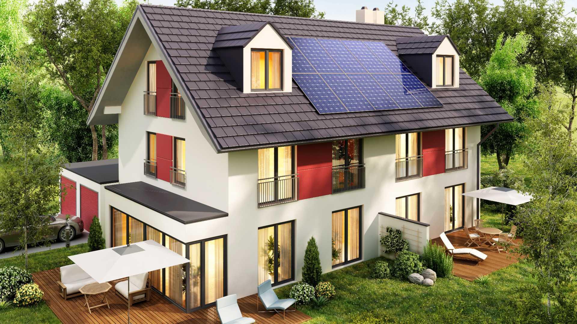 Solaranlage mit Speicher