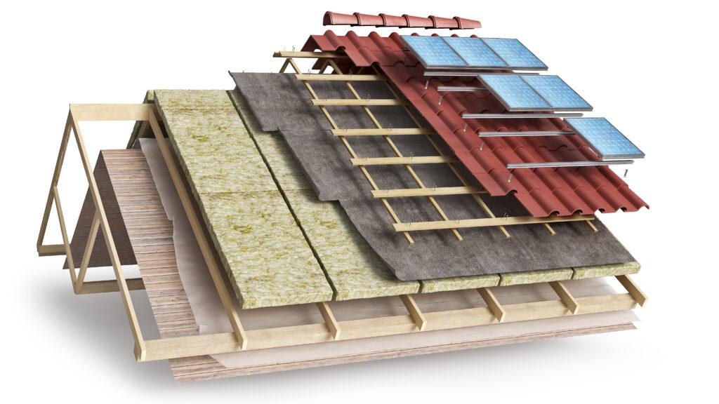 solarmodule dämmung dach bauen