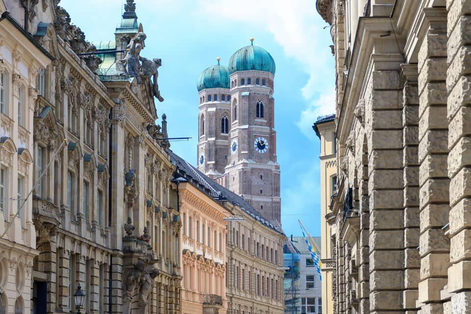 Landeshauptstadt München mit Frauenkirche